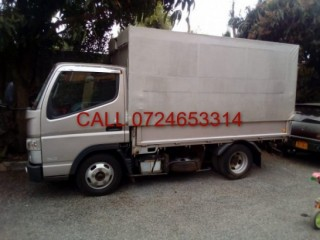 Mitsubishi fuso canter for hire in Nairobi