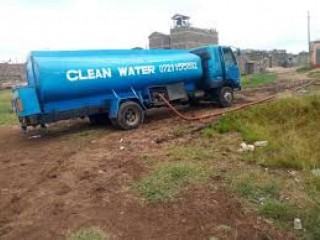 Clean water tanker supply delivery services