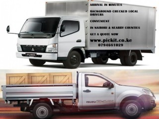 ORDER A PICKUP OR CANTER. AVAILABLE ALL OVER NAIROBI