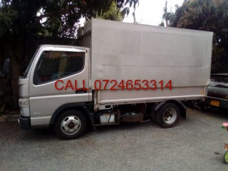 Mitsubishi Fuso Canter for hire, Nairobi.